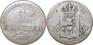 P0019 Germany Wurzburg 3 Kreuzer Ferdinand III 1808 -> Make offer
