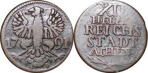 P0069 Germany Stadt Aachen 12 Heller 1791 -> Make offer