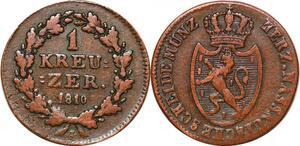 P0119 Germany Nassau Kreuzer Friedrich August 1810 L -> Make offer