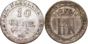 P0159 Germany Westphalia 10 Centimes Jerome Napoleon 1810 C Cassel ->M offer