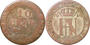 P0160 Germany Westphalia Centime Jerome Napoleon 1812 C Cassel ->M offer