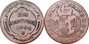 P0251 Further Austria Kreutzer Franz II 1804 H -> Make offer