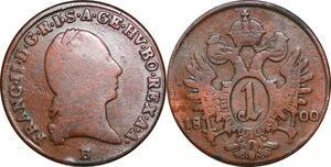 P0254 Austria  Habsburg  Kreuzer Franz II 1800 B Kremnica -> Make offer