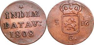 P0303 Netherlands East Indies Indonesia Duit Batavia 1808 -> Make offer