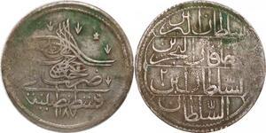 P0395 Ottoman Empire  20 Para (1/2 Kurush) Abdülhamid I 1187/1773 -> Make offer