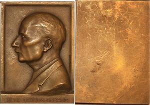 P0458 Rare Plaque Médecine Rene Ledoux Lebard Docteur Médecin Chef Paris SUP