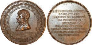P0524 Médaille Bonaparte Premier Consul Bataille de Marengo An 8 Brenet SUP