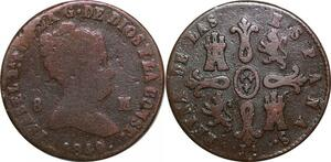 P0608 Spain 8 Maravedís Isabel II 1849 Jubia ->Make offer
