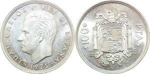 P0675 Spain 100 Pesetas Juan Carlos I 1975 FDC BU UNC -> Make Offer
