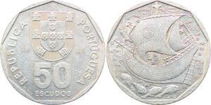P0681 Portugal 50 Escudos 1989 SPL BU UNC -> Make Offer