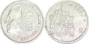 P0733 Spain 1 Peseta Juan Carlos I 1997 UNC ->Make offer
