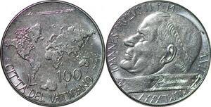 P0790 Vatican 100 Lire Jean-Paul II 1985 FDC -> Make offer