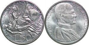 P0802 Vatican 50 Lire Jean Paul II Guido Veroi 1988 FDC -> Make offer