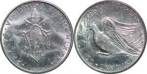 P0816 Vatican 100 Lire Paul VI Tomas Gismondi 1976 FDC -> Make offer