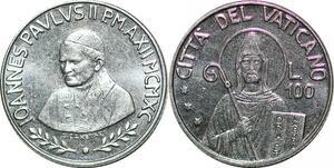 P0817 Vatican 100 Lire Jean Paul II 1900 FDC -> Make offer