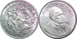 P0819 Vatican 50 Lire Jean Paul II Enrico Manfrini 1989 FDC -> Make offer