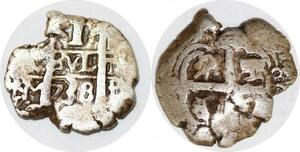 P0880 Peru 1 real Carlos III 1767 Potosí Silver ->Make offer