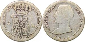 P0927 Spain 4 Reales Joseph Napoleon 1811 AI Silver ->make offer