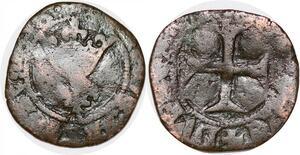 P1127 Rare Charles VI Double Tournois Dit Niquet Auxerre ->Faire offre