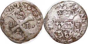P1169 Rare Henri III Douzain du Dauphiné 1er type 1576 Z Grenoble ->F offre