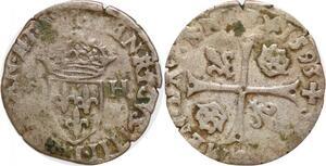 P1174 Inedit ? Douzain Henri IV 1593 I Limoges ->Faire offre