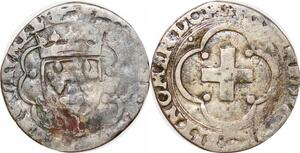 P1178 Fauté Henri II douzain à la croisette 9eme La Rochelle lettre O ->F offre