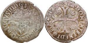 P1185 Douzain Henri III 1577 Globe ->Faire offre