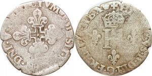 P1193 Henri II Gros de 3 blancs Nesles 155? A Paris Argent ->Faire offre