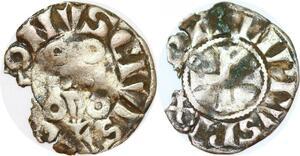 P1207 Philippe IV 1285-1314 Double Parisis 1ère émission Argent ->Faire offre
