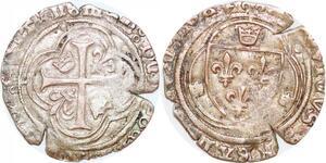 P1234 Rare Louis XI blanc à la couronne Montpellier ->Faire offre