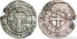 P1236 Charles V 1364-1380 Blanc au K 20 avril 1365 - >Faire offre