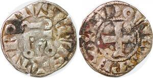P1243 Rare Denier Louis IX Saint Louis 1226–1270 Châlons-sur-Marne