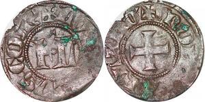 P1293 Belgique Flandres Double Mite Louis de Male 1346-1384 ->Faire offre