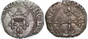 P1296 Charles VI 1380-1422 régent Florette 15ème émission Limoges ->F offre