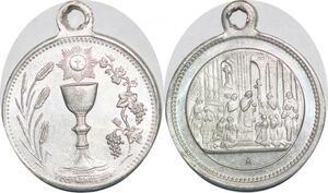 P1306 Médaille Vatican Notre Dame de Paris Eglise Osti Eglise SUP ->Faire offre