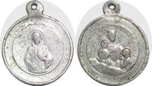 P1308 Médaille Vatican Eglise Marie Jésus Notre Dame de Paris -> Faire offre