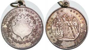 P1311 Médaille Souvenir de Confirmation Notre Dame de Paris SUP ->Faire offre
