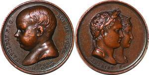 P1346 Médaille Napoleon I roi de Rome Marie Louise 1811 SPL ->Faire offre