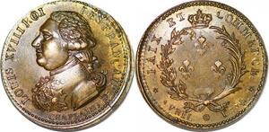 P1352 Médaille Louis XVIII Paix et commerce Chaplain SPL ->Faire offre