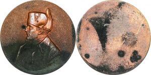 P1364 Médaille Uniface Napoléon I er Empereur Bonaparte ->Faire offre