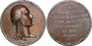 P1372 Rare Médaille Grand Duc Wurtzbourg visite Monnaie médailles 1810 Brenet
