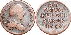 P1423 Austrian Netherlands Liard Joseph II 1789 KM#30 -> Make offer