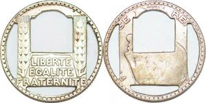P1513 10 Francs Turin Travail D'artiste Art Argent Silver ->Faire offre