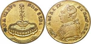 P1619 France Token Louis XVI Omnibus non sibi 1774 1793 - Make offer