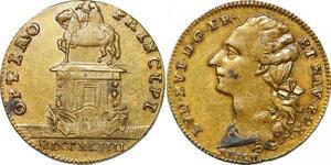 P1623 France Token Louis XVI 1774 1793 Optimo Principi Reich 1794 SUP - M offer