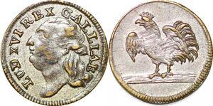P1626 France Token Louis XVI 1774 1793 Coq Rooster SUP ->Faire offre