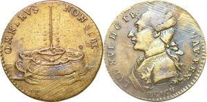 P1632 Jeton Token Louis XVI Omnibus Non Sibi 1791 Reich -> Make offer