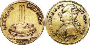 P1633 Jeton Token Louis XVI Omnibus Non Sibi 1791 Reich -> Make offer