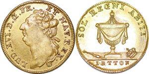 P1638 Jeton Token Sol Regni Louis XVI 1774 1793 Letton SUP ->Make offer