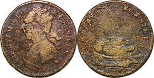 P1642 Jeton Token Louis XVI Omnibus Non Sibi 1791 Reich -> Make offer